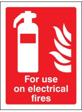 For Use On Electrical Fires