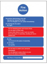 Fire Action- ResIdential Care Homes