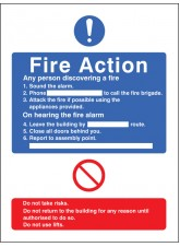 General Fire Action with Lift