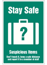 Stay Safe - Suspicious Items