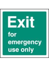 Exit Emergency Use