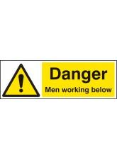Danger Men Working Below