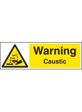 Warning Caustic