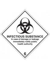 Infectious Substance Diamond