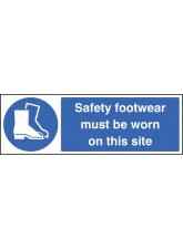 Safety Footwear Must be Worn On this Site