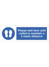 Coronavirus - Please wait here until called