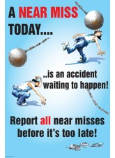 A Near Miss Today Poster
