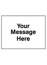 Class RA1 Zintec - Your Message Here