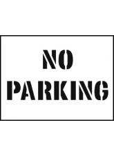 Stencil Kit - No Parking