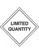 Roll of 100 Limited Quantity Labels - 100 x 100mm