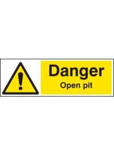 Danger Open Pit