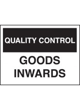 Quality Control Goods Inward