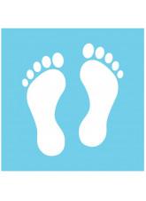 Feet Floor Graphics - Multiple Colour Choices